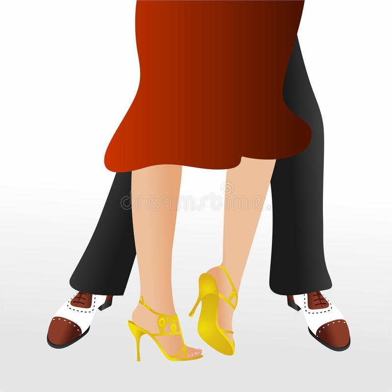 χορευτές διανυσματική απεικόνιση