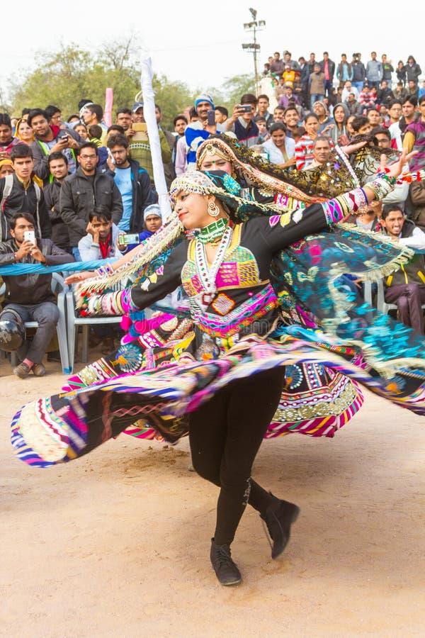 Χορευτές Rajasthani στοκ φωτογραφίες με δικαίωμα ελεύθερης χρήσης