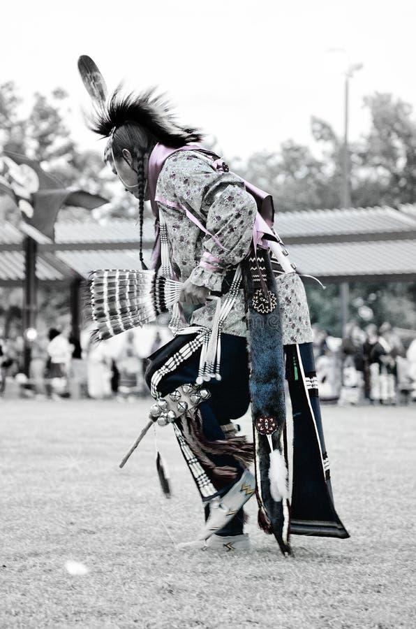 Χορευτής αμερικανών ιθαγενών στοκ εικόνα