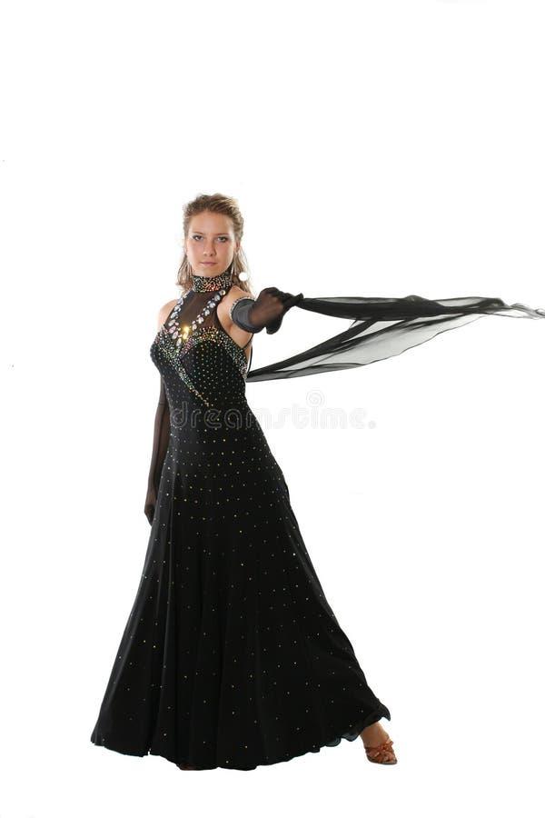 Χορευτής κομψότητας στοκ εικόνες με δικαίωμα ελεύθερης χρήσης