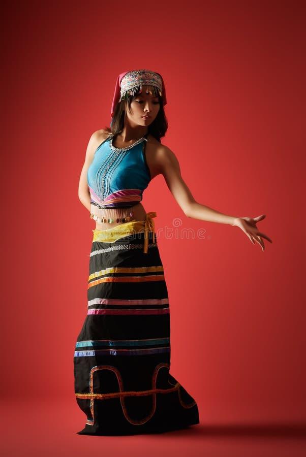 χορευτής μυστήριος στοκ φωτογραφία