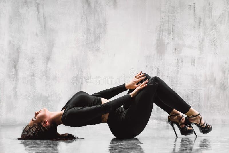 Χορευτής λουρίδων στοκ φωτογραφία