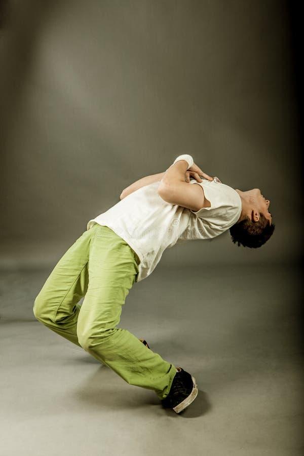 Χορευτής - πάγωμα ισχύος στοκ φωτογραφίες