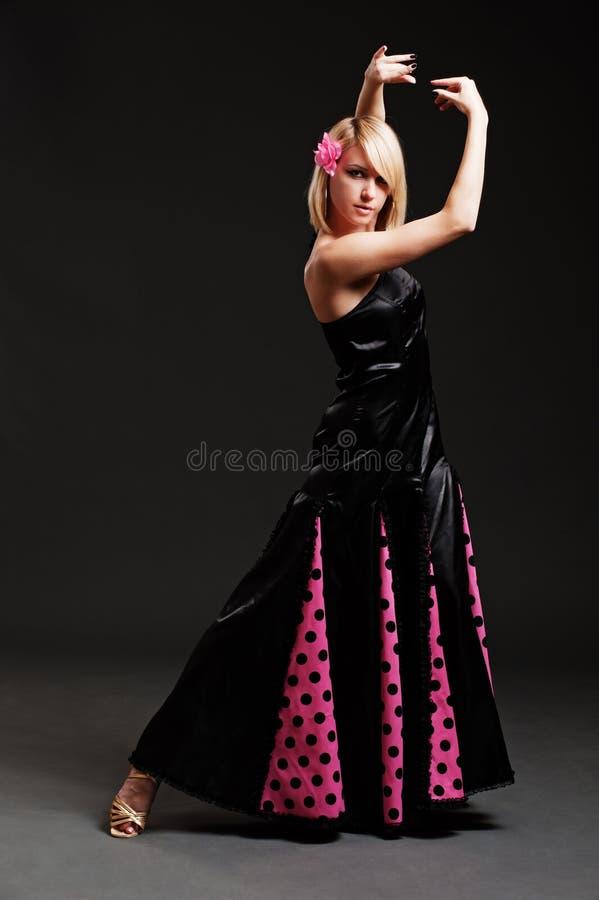 χορευτής τα χαριτωμένα ισ στοκ εικόνες