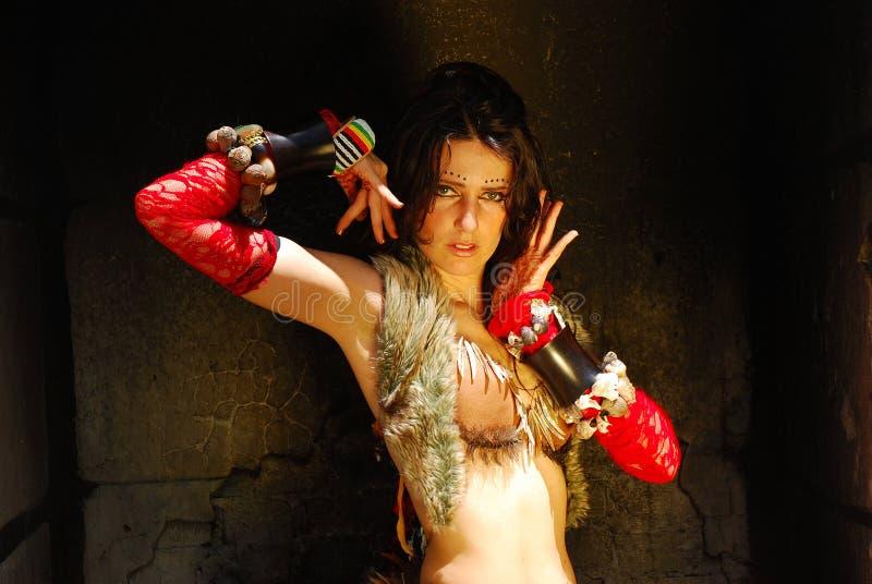 Χορευτής τσιγγάνων στοκ εικόνες