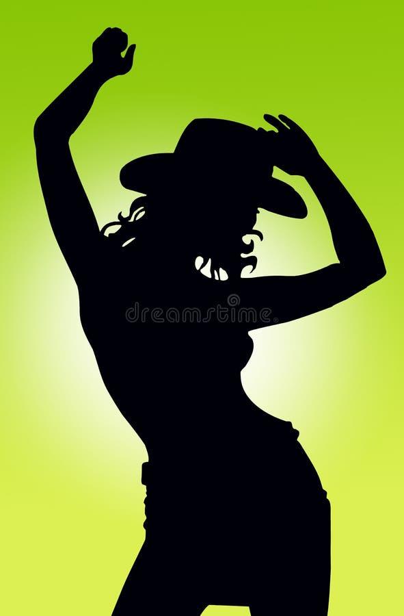 χορευτής διανυσματική απεικόνιση