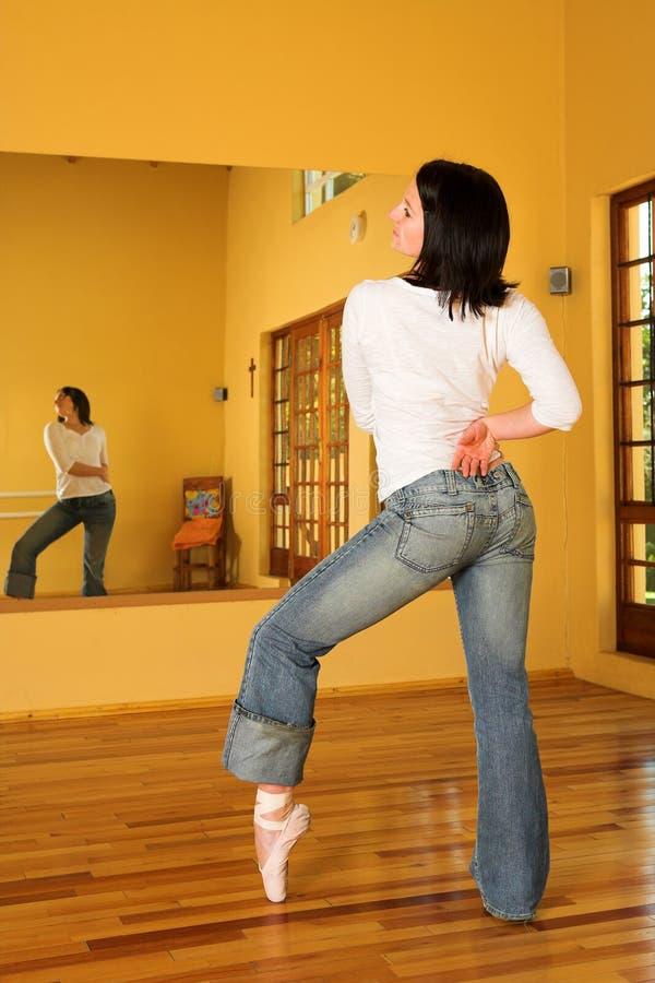 χορευτής 8 σύγχρονος στοκ φωτογραφία