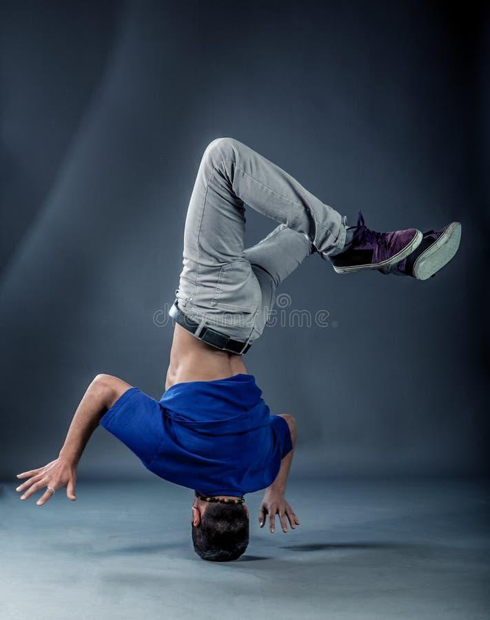 Χορευτής - Headspin στοκ φωτογραφίες με δικαίωμα ελεύθερης χρήσης