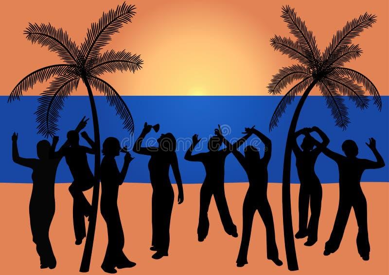χορεύοντας άνθρωποι παρα στοκ φωτογραφία