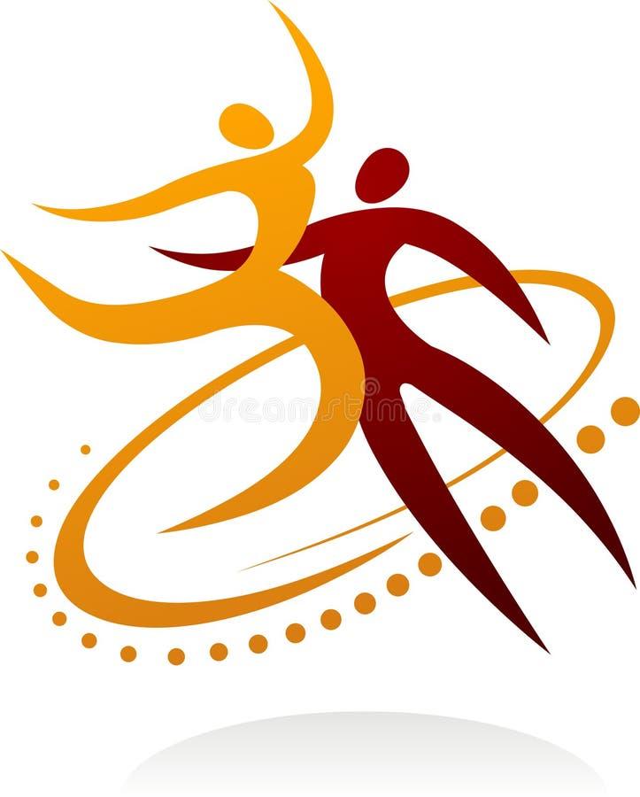 Χορεύοντας ζεύγος - 1 ελεύθερη απεικόνιση δικαιώματος