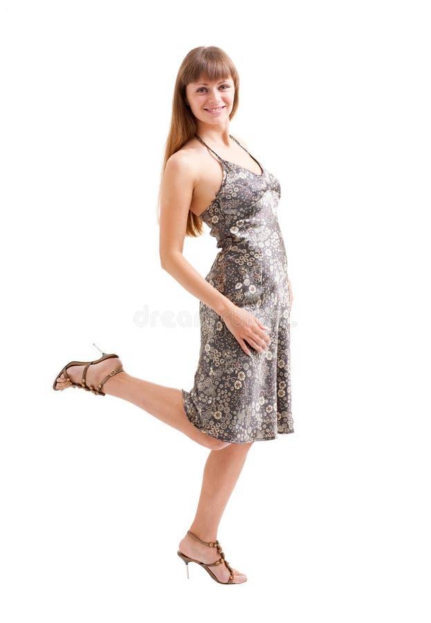 Download χορεύοντας λευκή γυναί&kap στοκ εικόνα. εικόνα από αισθησιακός - 13177971