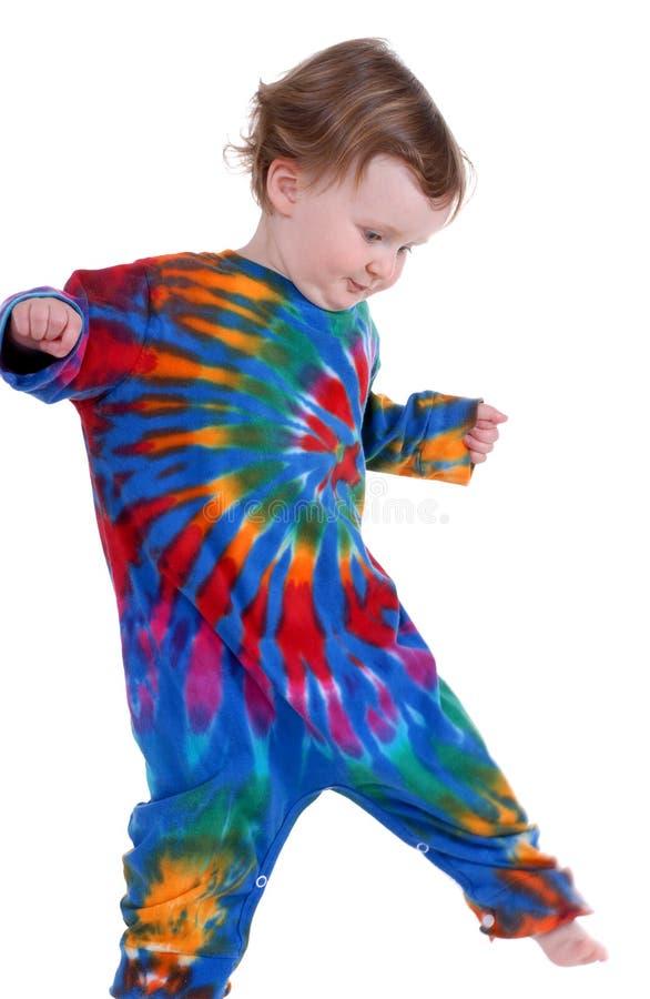 χορεύοντας μικρό παιδί στοκ εικόνα με δικαίωμα ελεύθερης χρήσης