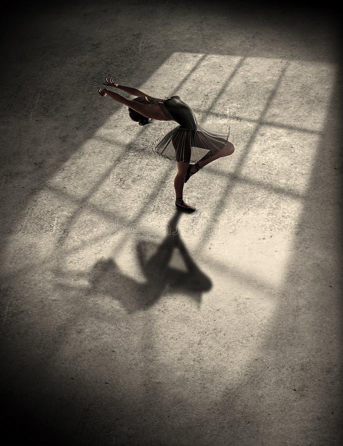 χορεύοντας νεολαίες γυναικών μπαλέτου ελεύθερη απεικόνιση δικαιώματος