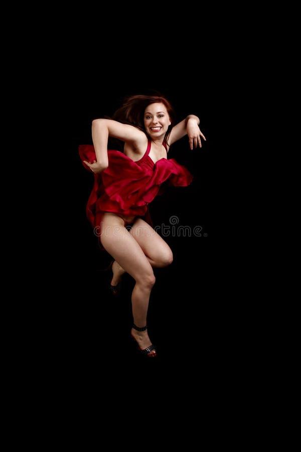 χορεύοντας νεολαίες γυναικών στοκ εικόνες με δικαίωμα ελεύθερης χρήσης