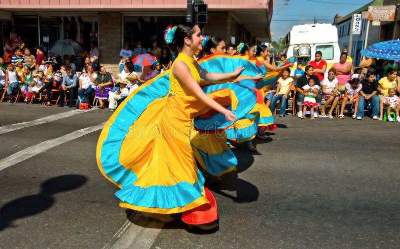 χορεύοντας οδός στοκ εικόνες