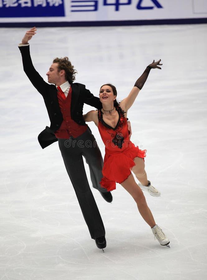 χορεύοντας πάγος στοκ εικόνες