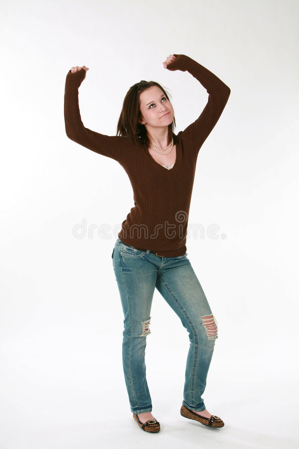 χορεύοντας πρότυπος έφηβ&omi στοκ εικόνες