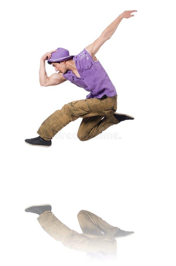 Χοροί χορού χορευτών στοκ εικόνα