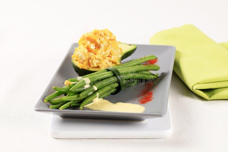 χορτοφάγος γεύματος στοκ φωτογραφίες