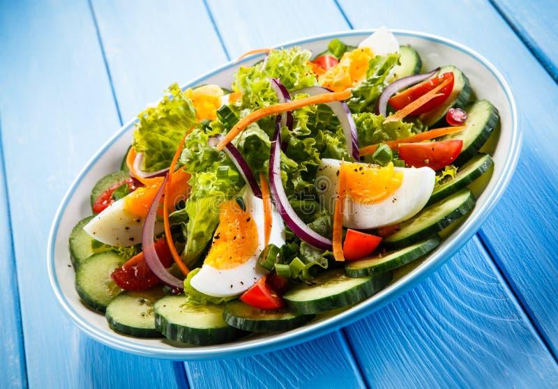 Χορτοφάγος σαλάτα στοκ εικόνες