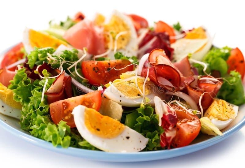 Χορτοφάγος σαλάτα στοκ φωτογραφίες