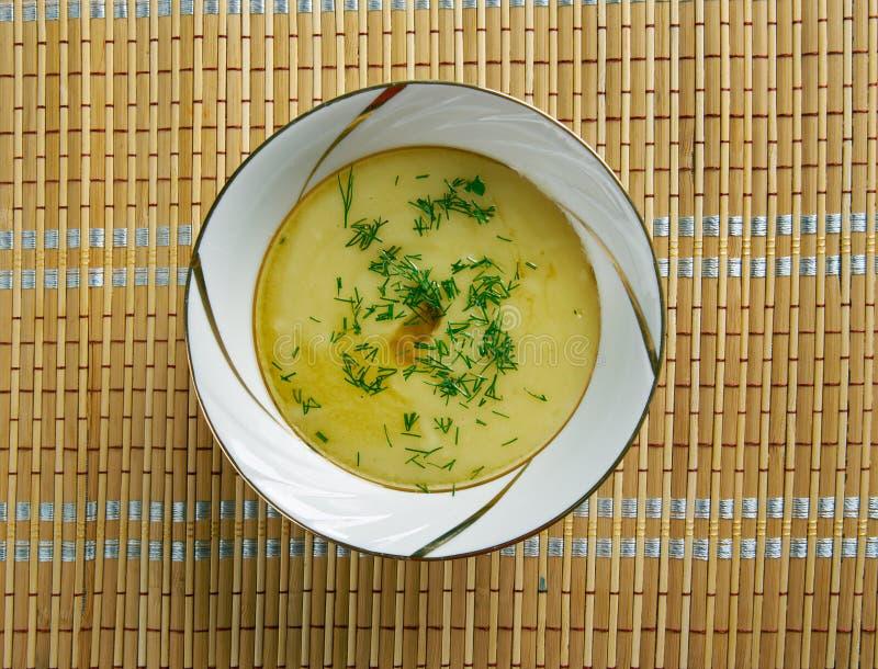 Χορτοφάγος Skordalia που διαδίδεται στοκ φωτογραφία