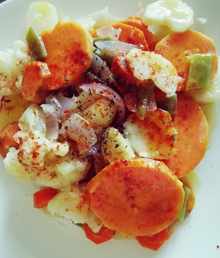 Χορτοφάγο πιάτο στοκ εικόνα με δικαίωμα ελεύθερης χρήσης