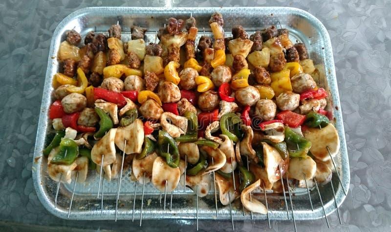 Χορτοφάγο ραβδί τροφίμων σχαρών στοκ φωτογραφία με δικαίωμα ελεύθερης χρήσης