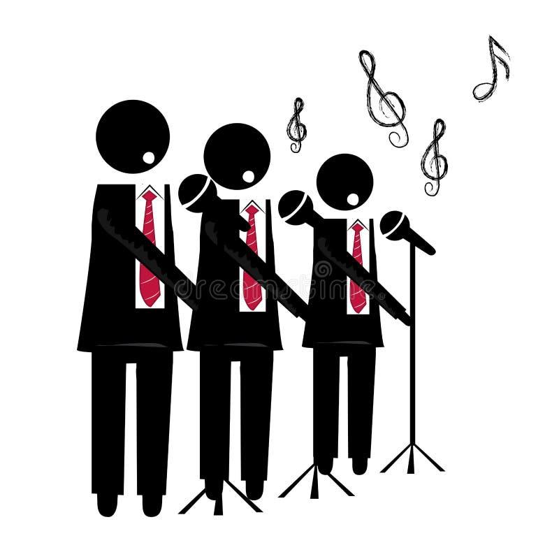Χορωδία ελεύθερη απεικόνιση δικαιώματος