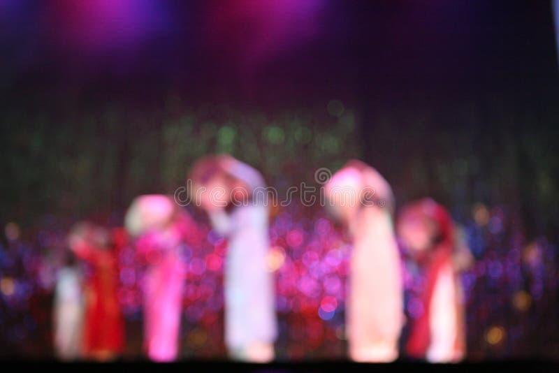 χορός Βιετνάμ στοκ εικόνα