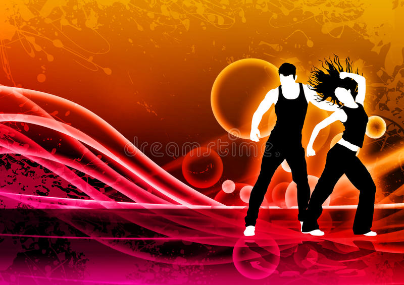 Χορός ικανότητας απεικόνιση αποθεμάτων