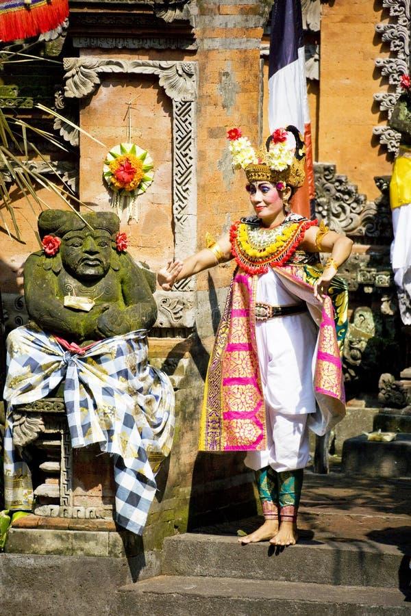 χορός Ινδονησία του Μπαλί b στοκ φωτογραφίες με δικαίωμα ελεύθερης χρήσης