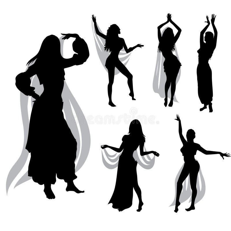 χορός κοιλιών ελεύθερη απεικόνιση δικαιώματος