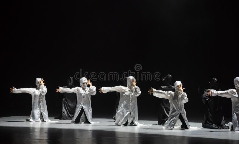 Χορός με έναν χορό ` μάσκα-Huang Mingliang ` s κανένα καταφύγιο ` στοκ φωτογραφία