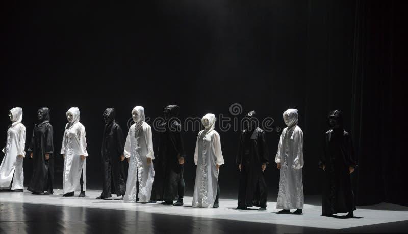 Χορός με έναν χορό ` μάσκα-Huang Mingliang ` s κανένα καταφύγιο ` στοκ φωτογραφία με δικαίωμα ελεύθερης χρήσης