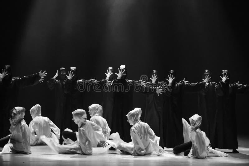 Χορός με έναν χορό ` μάσκα-Huang Mingliang ` s κανένα καταφύγιο ` στοκ εικόνες με δικαίωμα ελεύθερης χρήσης