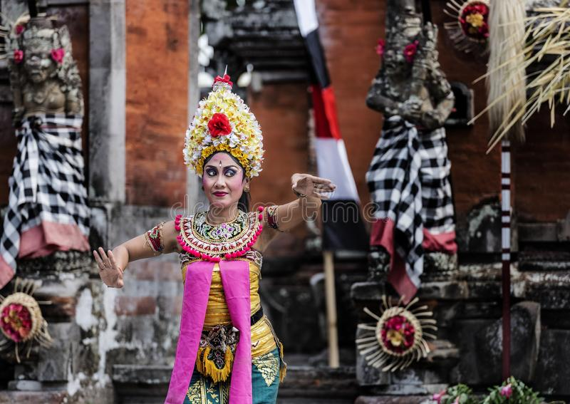 Χορός Μπαλί, Ινδονησία Barong στοκ εικόνα