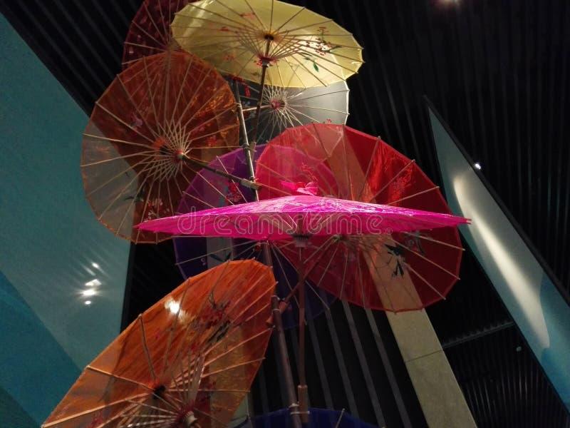 Χορός ομπρελών στοκ φωτογραφίες