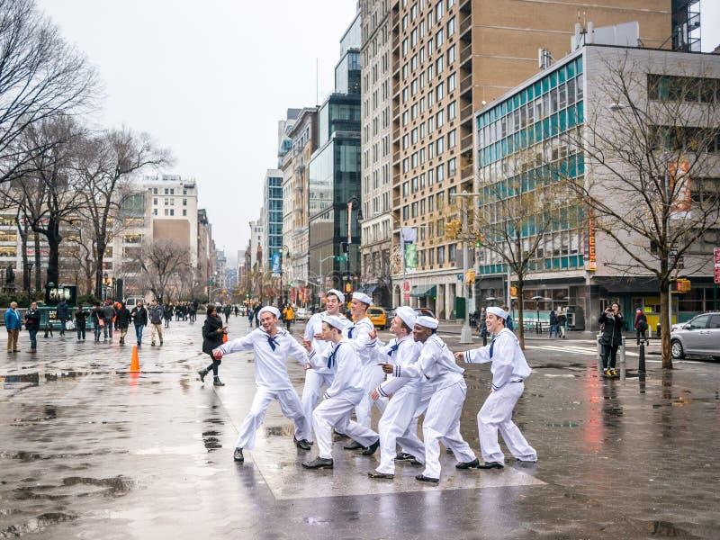 Χορός στην οδό στοκ φωτογραφία