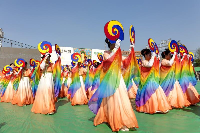 Χορός της Κορέας στοκ φωτογραφία με δικαίωμα ελεύθερης χρήσης