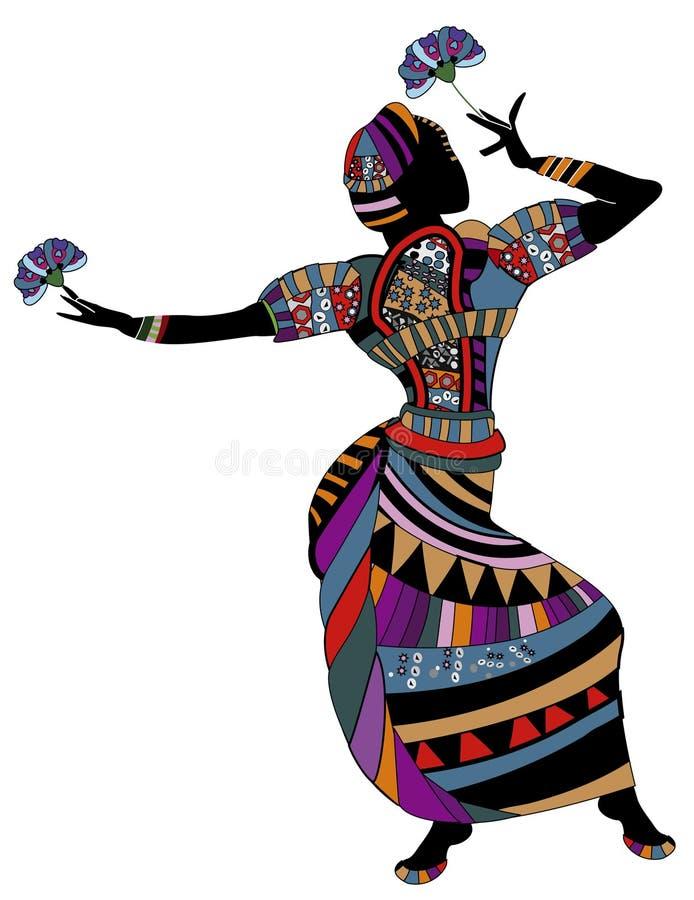 χορός διανυσματική απεικόνιση