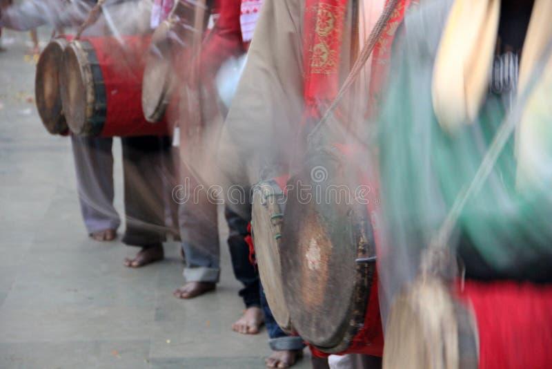Χορός Aaabahan στοκ εικόνα