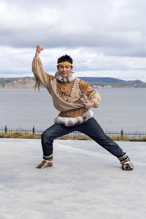 χορός chukchi στοκ εικόνες με δικαίωμα ελεύθερης χρήσης