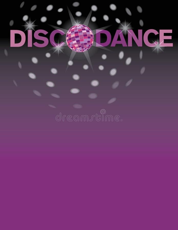 Χορός Disco διανυσματική απεικόνιση