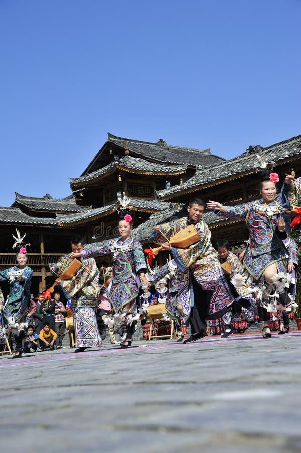 Χορός Hmong στοκ εικόνες με δικαίωμα ελεύθερης χρήσης