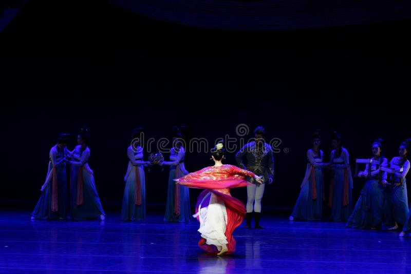 Χορός Huxuan το 1-τριών actï ¼ š ` όνειρο να τεμαχίσει το μετάξι ` - επική πριγκήπισσα ` μεταξιού δράματος ` χορού στοκ φωτογραφίες με δικαίωμα ελεύθερης χρήσης