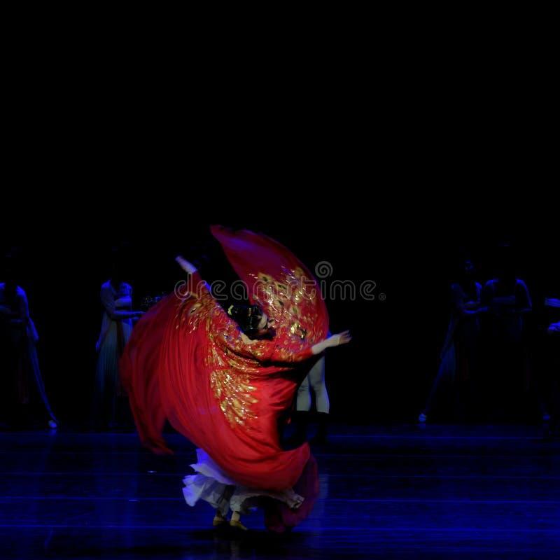 Χορός Huxuan το 1-τριών actï ¼ š ` όνειρο να τεμαχίσει το μετάξι ` - επική πριγκήπισσα ` μεταξιού δράματος ` χορού στοκ εικόνες με δικαίωμα ελεύθερης χρήσης