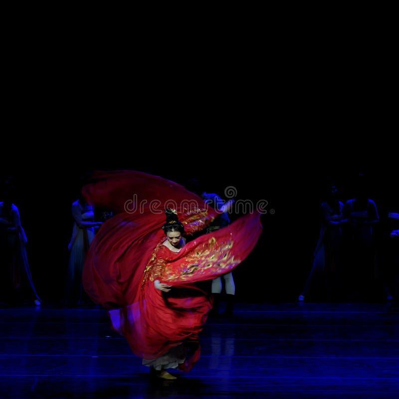 Χορός Huxuan το 2-τριών actï ¼ š ` όνειρο να τεμαχίσει το μετάξι ` - επική πριγκήπισσα ` μεταξιού δράματος ` χορού στοκ φωτογραφίες με δικαίωμα ελεύθερης χρήσης
