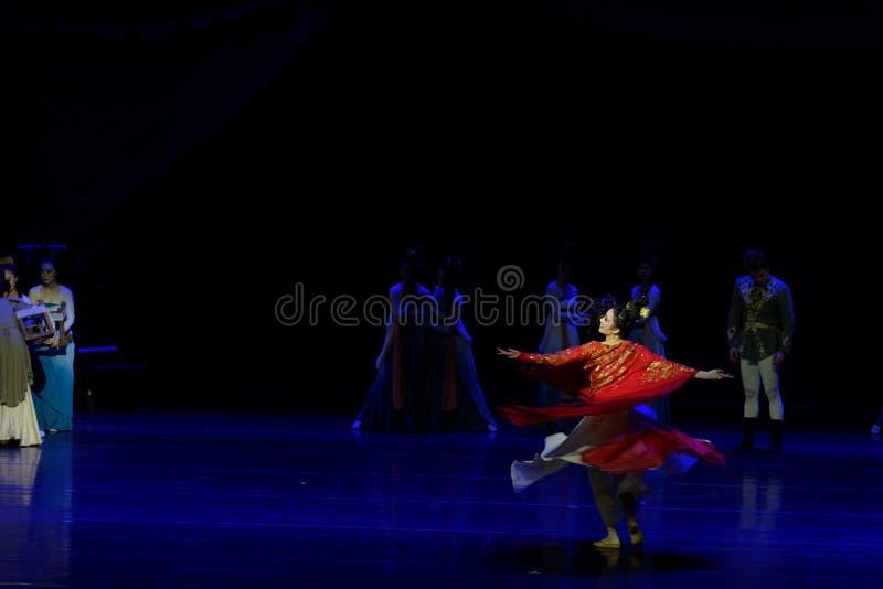 Χορός Huxuan το 5-τριών actï ¼ š ` όνειρο να τεμαχίσει το μετάξι ` - επική πριγκήπισσα ` μεταξιού δράματος ` χορού στοκ φωτογραφίες με δικαίωμα ελεύθερης χρήσης