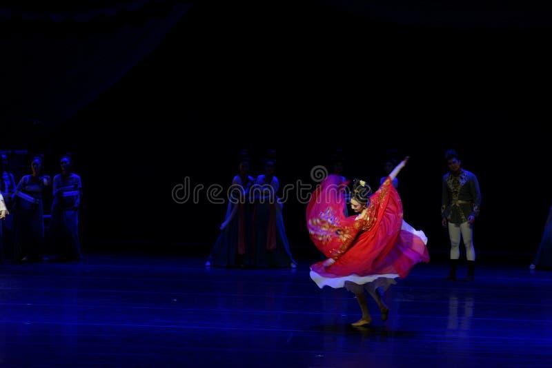 Χορός Huxuan το 5-τριών actï ¼ š ` όνειρο να τεμαχίσει το μετάξι ` - επική πριγκήπισσα ` μεταξιού δράματος ` χορού στοκ εικόνες με δικαίωμα ελεύθερης χρήσης